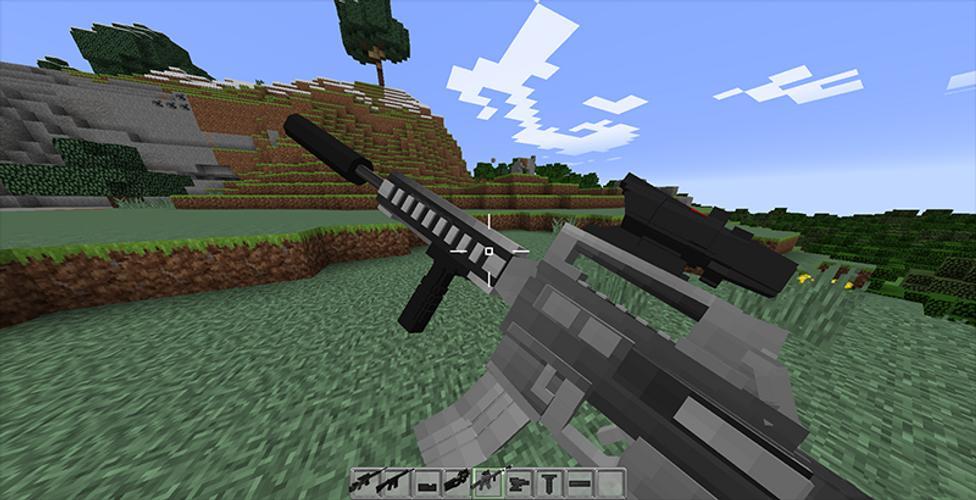 мод на двуручное оружие в майнкрафт 1.7.2 #3