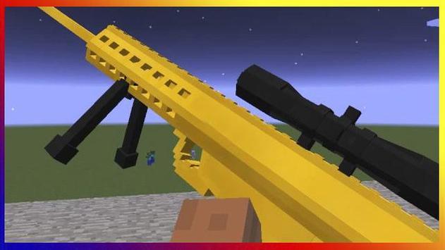 Super guns for MCPE screenshot 1