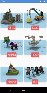 Mods Installer for Minecraft PE poster
