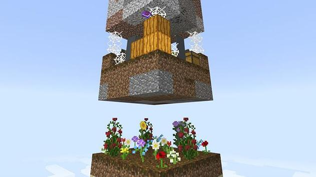 Sky survival maps for Minecraft pe poster