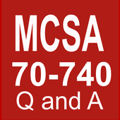 Mcsa 70-740: Mcsa Exam Questions and Answers. icon