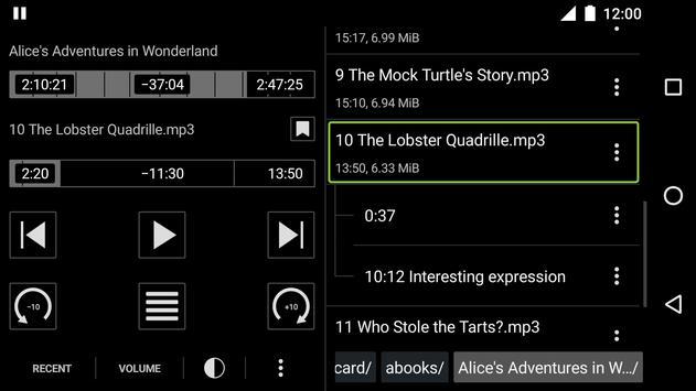 Simple Audiobook Player Free screenshot 3