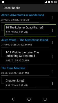 Simple Audiobook Player Free screenshot 4
