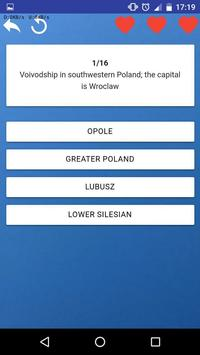 Provinces of Poland - quiz, tests, maps, flags screenshot 6