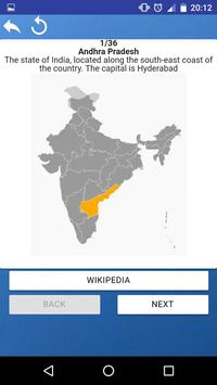 States of India - maps, capitals, tests, quiz screenshot 5