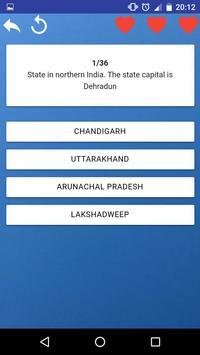States of India - maps, capitals, tests, quiz screenshot 6