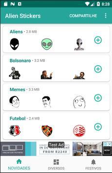Alien Stickers screenshot 3