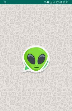 Alien Stickers poster