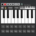 Strings and Piano Keyboard