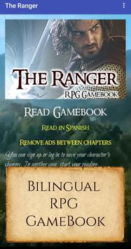 The Ranger - Lord of the Rings RPG Gamebook poster