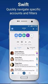 Blue Mail - Email & Calendar App - Mailbox poster