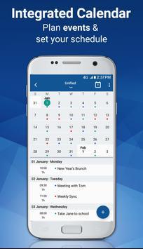 Blue Mail - Email & Calendar App - Mailbox screenshot 2