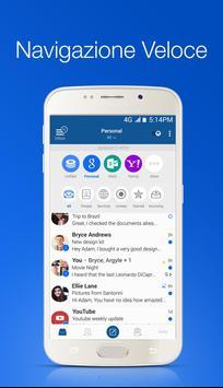 Poster Blue Mail - Email & Calendario App