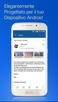 1 Schermata Blue Mail - Email & Calendario App