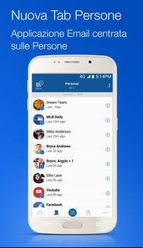 2 Schermata Blue Mail - Email & Calendario App