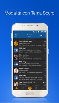 4 Schermata Blue Mail - Email & Calendario App