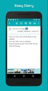 Easy Diary screenshot 2