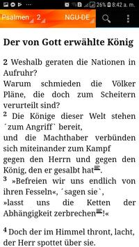 Holy Bible New Geneva translation Aleman screenshot 1