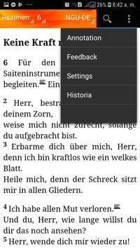 Holy Bible New Geneva translation Aleman screenshot 7