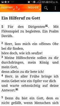 Holy Bible New Geneva translation Aleman screenshot 4