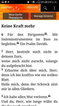 Holy Bible New Geneva translation Aleman screenshot 6
