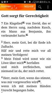 Holy Bible New Geneva translation Aleman screenshot 9