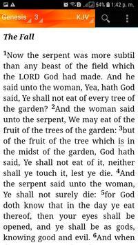 Holy Bible King James Version(KJV) screenshot 4