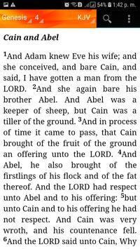Holy Bible King James Version(KJV) screenshot 5