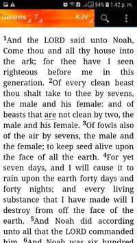 Holy Bible King James Version(KJV) screenshot 6