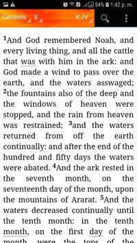 Holy Bible King James Version(KJV) screenshot 7