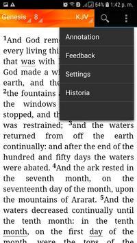 Holy Bible King James Version(KJV) screenshot 8