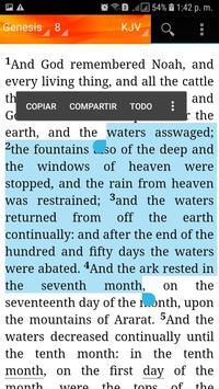 Holy Bible King James Version(KJV) screenshot 13