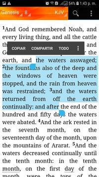 Holy Bible King James Version(KJV) screenshot 14