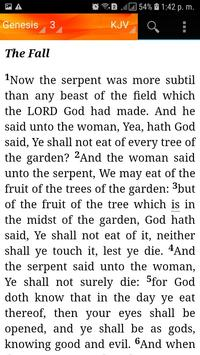 Holy Bible King James Version(KJV) screenshot 2