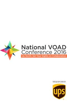 NVOAD 2016 Conference poster