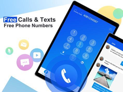 Free phone calls, free texting SMS on free number screenshot 4