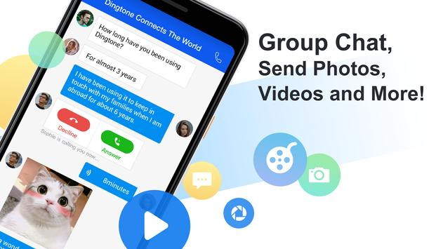 Free phone calls, free texting SMS on free number screenshot 3