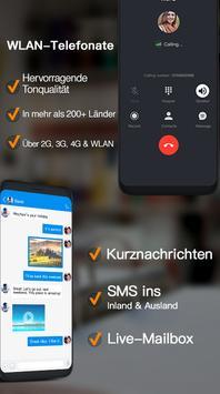 Dingtone–WLAN-Telefonate & SMS Plakat