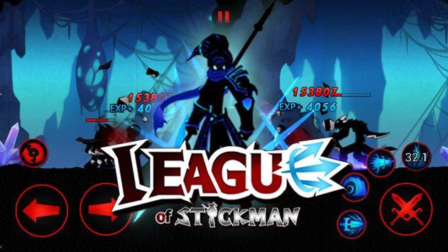 League of Stickman Free captura de pantalla 3