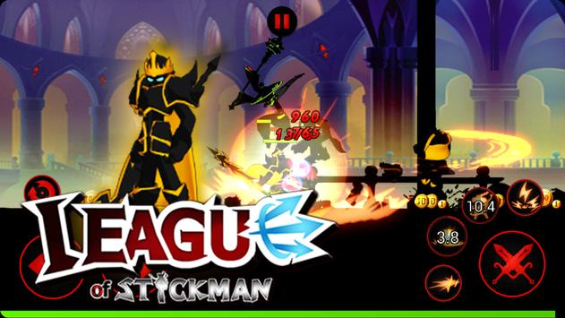League of Stickman Free captura de pantalla 4