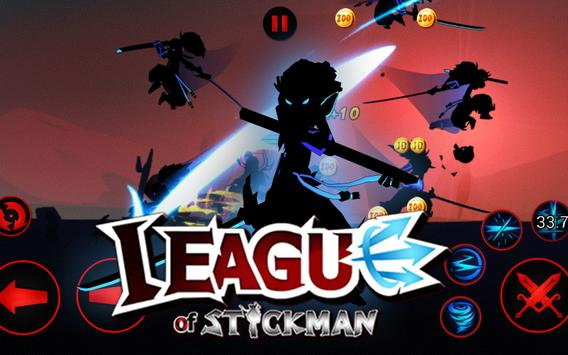 League of Stickman Free скриншот 20
