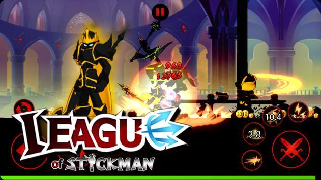 League of Stickman Free скриншот 4