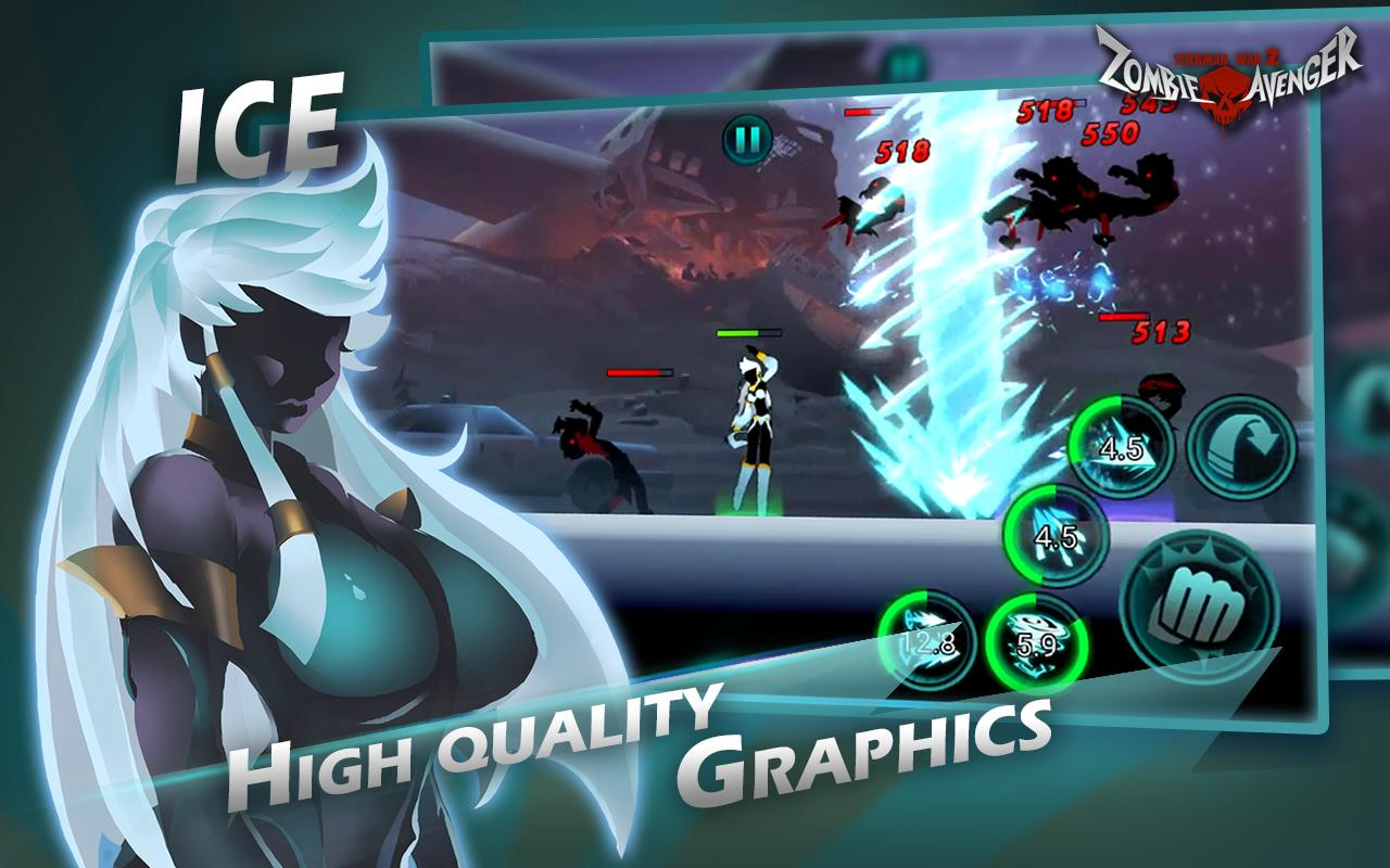 Zombie Avengers-(Dreamsky)Stickman War Z for Android - APK