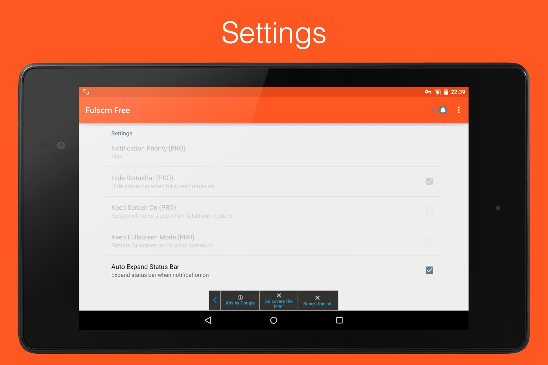 Fulscrn for Android - APK Download