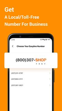 Second Phone Number for Business تصوير الشاشة 1
