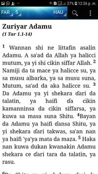 Holy Bible (Hausa) screenshot 4