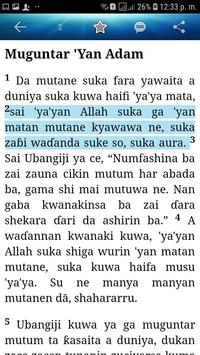 Holy Bible (Hausa) screenshot 6