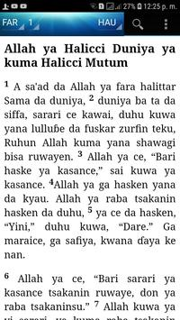 Holy Bible (Hausa) screenshot 7