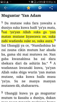 Holy Bible (Hausa) screenshot 11