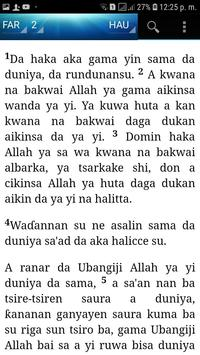 Holy Bible (Hausa) screenshot 1